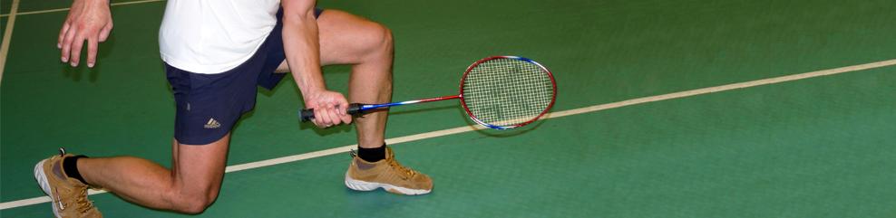 Kopfgrafik - Badminton