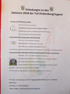 Aktionen der TuS Jugend 2018©TuS Drakenburg