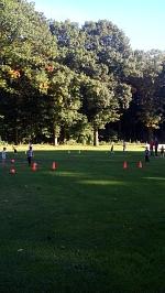 Bild vom Training der G-Jugend des TuS Drakenburg