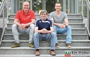 Clemens Sachau mit Melzer und Engelmann