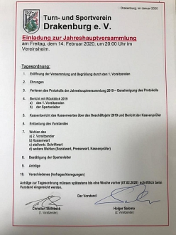 Einladung JHV TuS©/CS