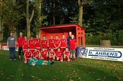 Firma Ahrens Trikot Sponsoring©TuS Drakenburg