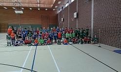 G-Jugend Turnier in der Halle©TuS Drakenburg