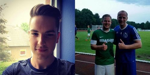 Lucas Teichmann und Daniel Bergmann©Facebook - Profil der Spieler