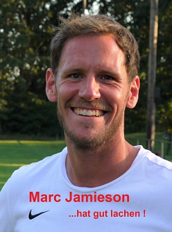 Marc Jamieson hat gut lachen©RF