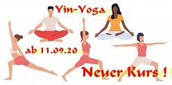 Yin-Yoga ab 11. September 2020©RF