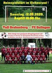 Plakat Heimspiel FC Sulingen