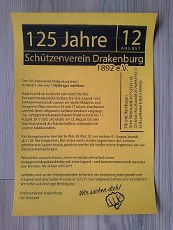Schützenverein Jubiläum©TuS Drakenburg