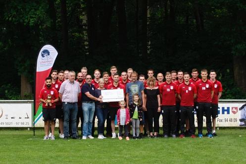 Spendenübergabe Löwenhospiz©dieharke.de